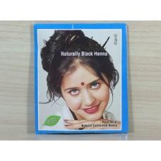 Черная-Яркая краска для волос на основе хны